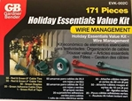 Gardner Bender 171 Piece Holiday Essentials Value Kit Wire Management