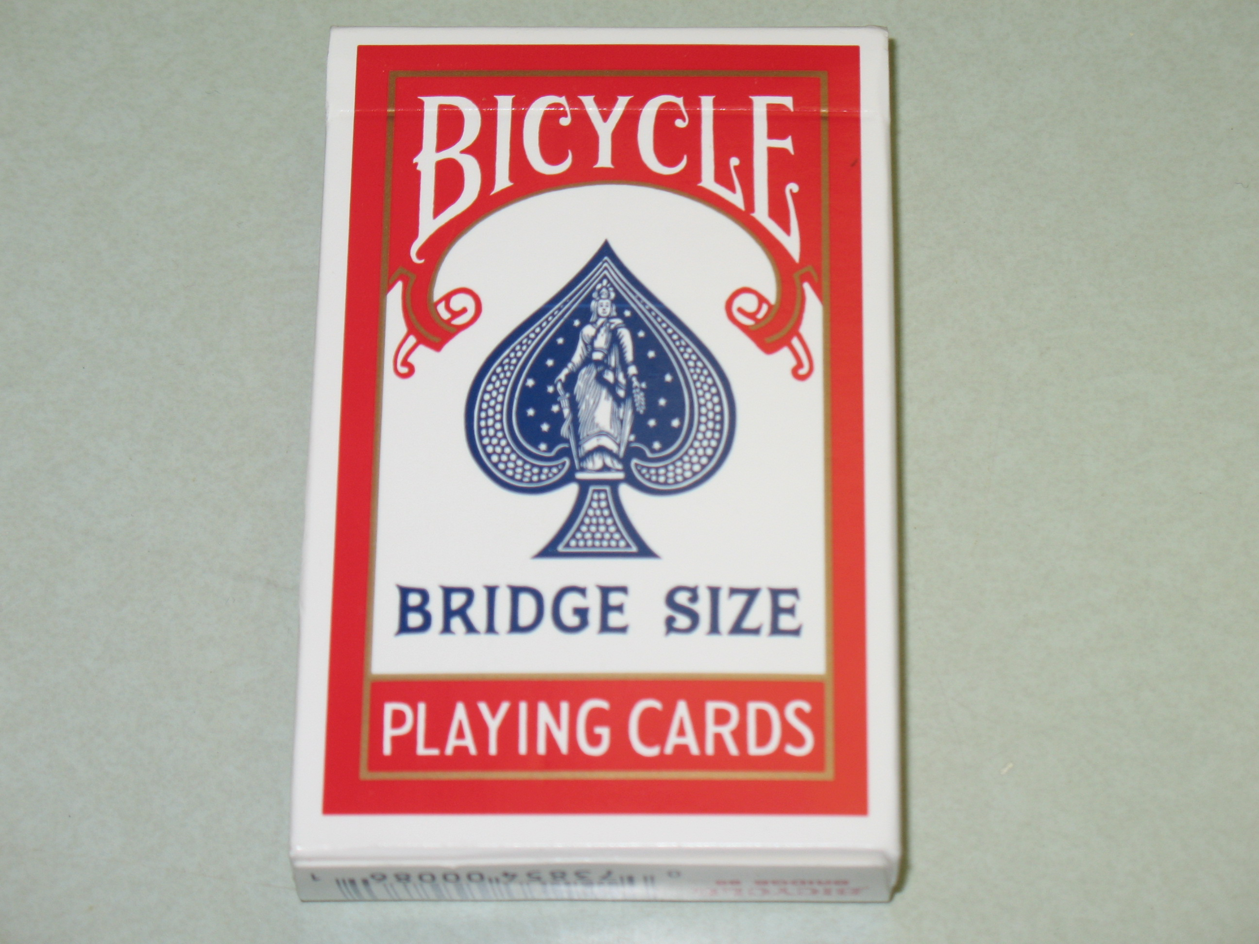 Lot 12 Decks Red Bicycle Bridge Playing Cards