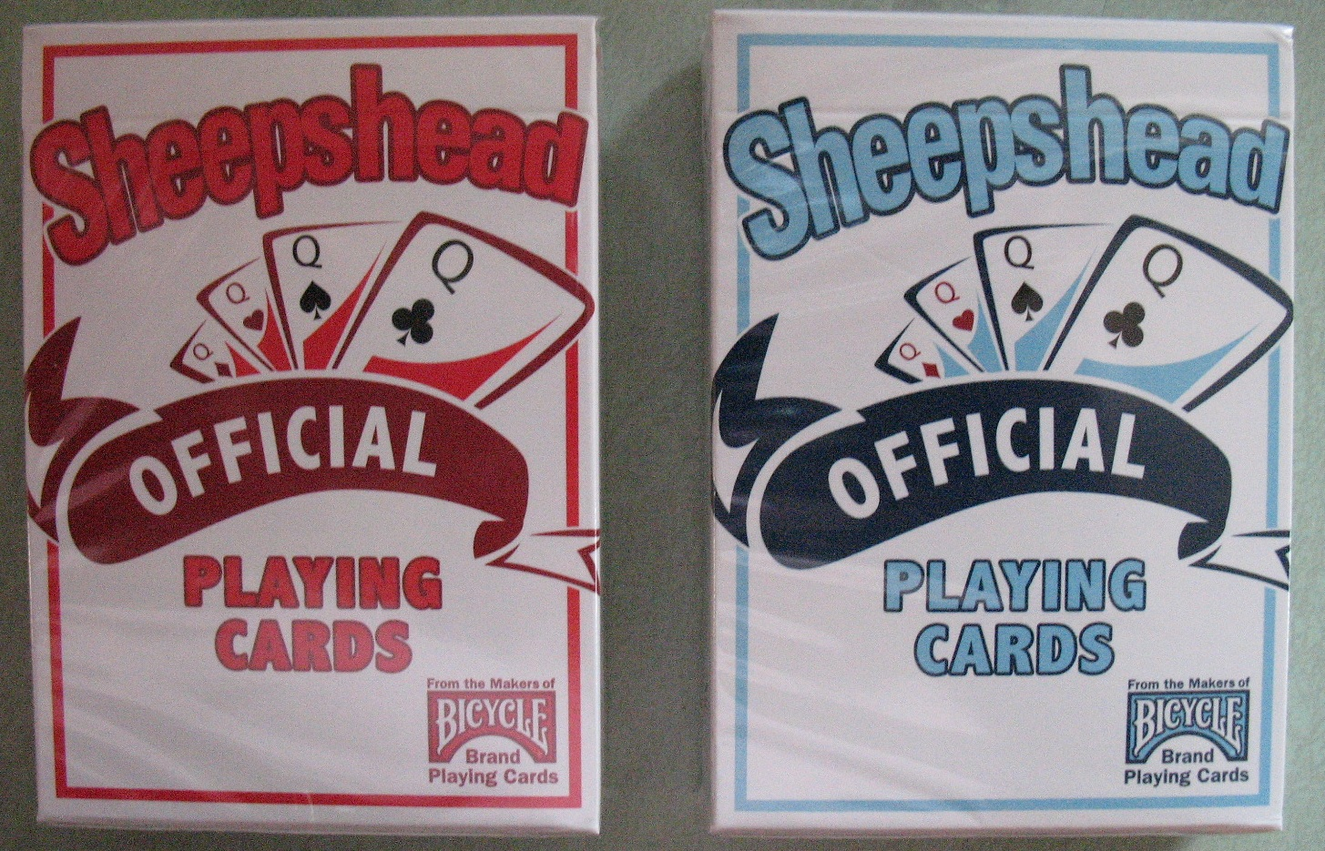 Sheepshead Official Playing Cards Bicycle Sheepshead playing cards sheeps head card game