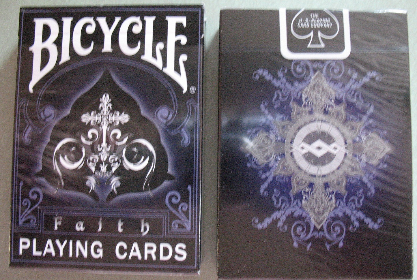 Bicycle Faith Deck Playing cards rare Bicycle Faith Deck Playing Cards