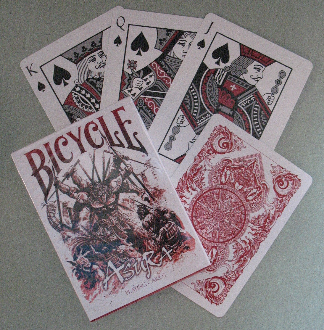 Rare Asura Bicycle Playing Cards Features Chinese Hindu Mythology Demi-God