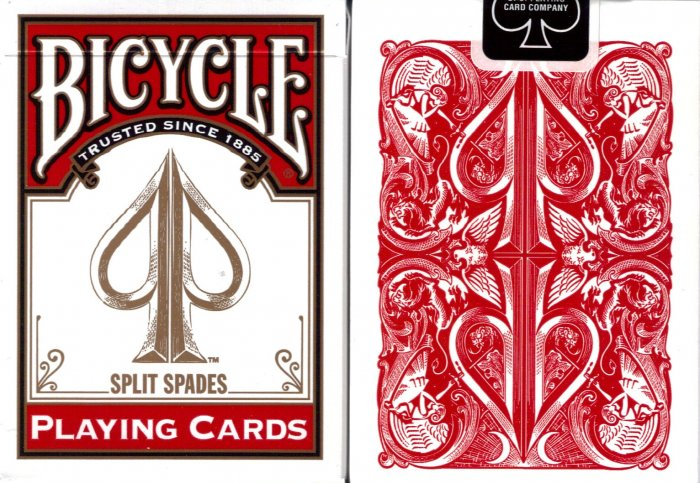 David Blaine TRANSFORMATION Magic Trick Bicycle Playing Cards David Blaine TRANSFORMATION Magic Trick Bicycle Playing Cards split spades Svengali