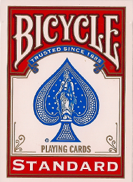 Bicycle 808 Poker Regular Index Red Deck Playing Cards