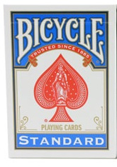 Bicycle 808 Poker Regular Index Blue Deck Playing Cards