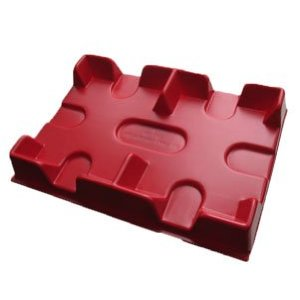 New 2 Deck Bicycle RED Plastic Playing Card Tray New 2 Deck Bicycle RED Plastic Playing Card Tray