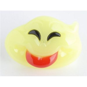 Billy Bob Baby Boo Glow in the dark Ghost Pacifier Billy Bob Baby Boo Glow in the dark Ghost Pacifier Halloween