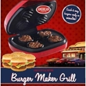American Originals Electric Burger Maker