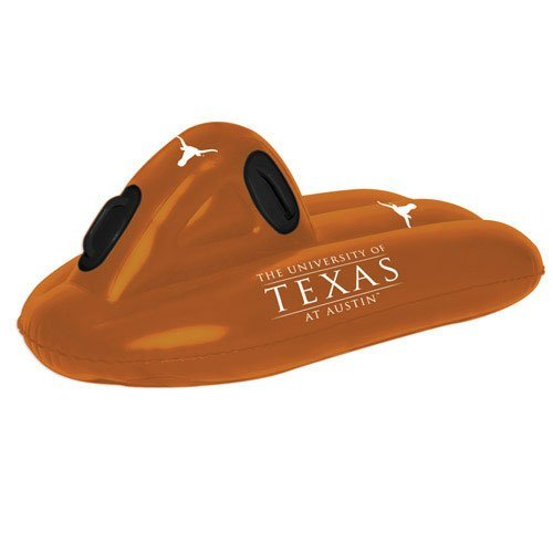 Texas Longhorns Sled/Float Texas Longhorns NCAA Inflatable Sled Pool Float Raft