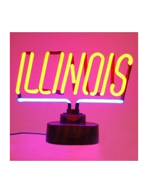 LARGE University of Illinois Neon Sign