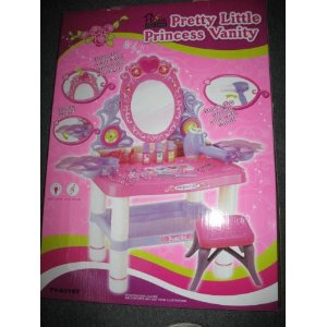 Pretty Little Princess Vanity with Single Mirror