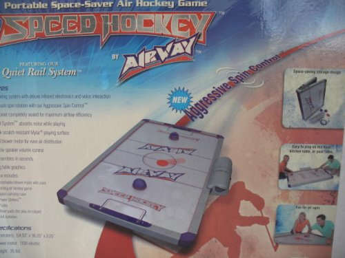 "Folding 64"" Poratable Table Speed Hockey by AirWay Air"