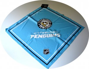 "Pittsburgh Penguins Fandana Bandana Large 21"" BLUE Pittsburgh Penguins Fandana Bandana Large 21"" BLUE"
