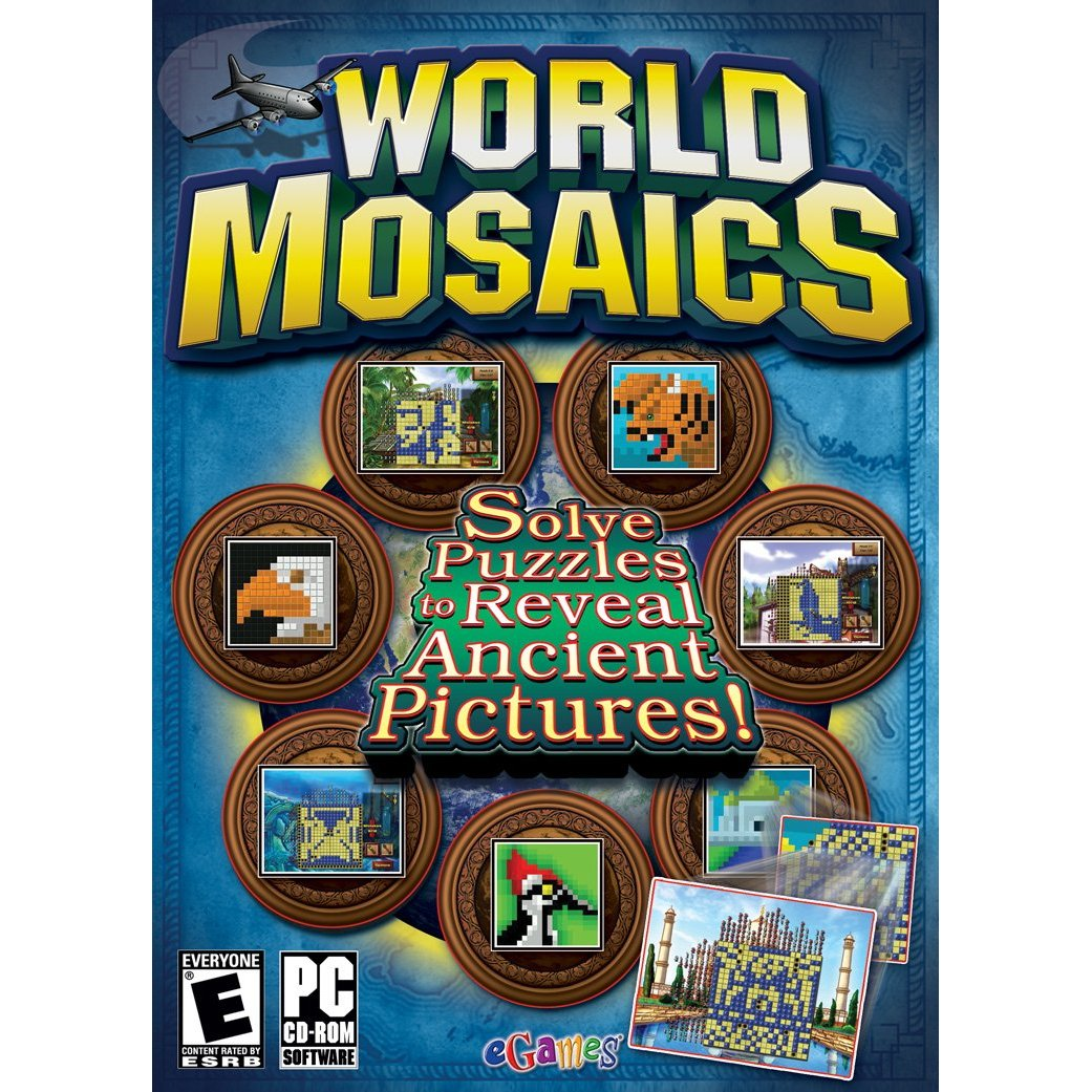 World Mosaics Sudoku Pictographc Puzzle Game VistaXP&7 World Mosaics Sudoku Pictographc Puzzle Game compatable with Vista XP & windows 7