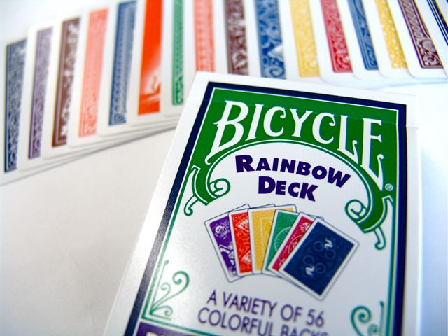 Bicycle New Rainbow Deck Playing Cards by Magic Makers Bicycle New Rainbow Deck Playing Cards by Magic Makers