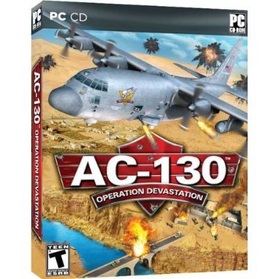 AC-130 Operation Devastation NEW AC-130 Operation Devastation Gunner Sim PC VistXP&7