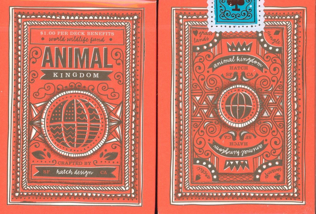 Animal Kingdom Playing Cards by Theory 11 animal kingdom ,theory 11 ,playing cards, theory11, deck