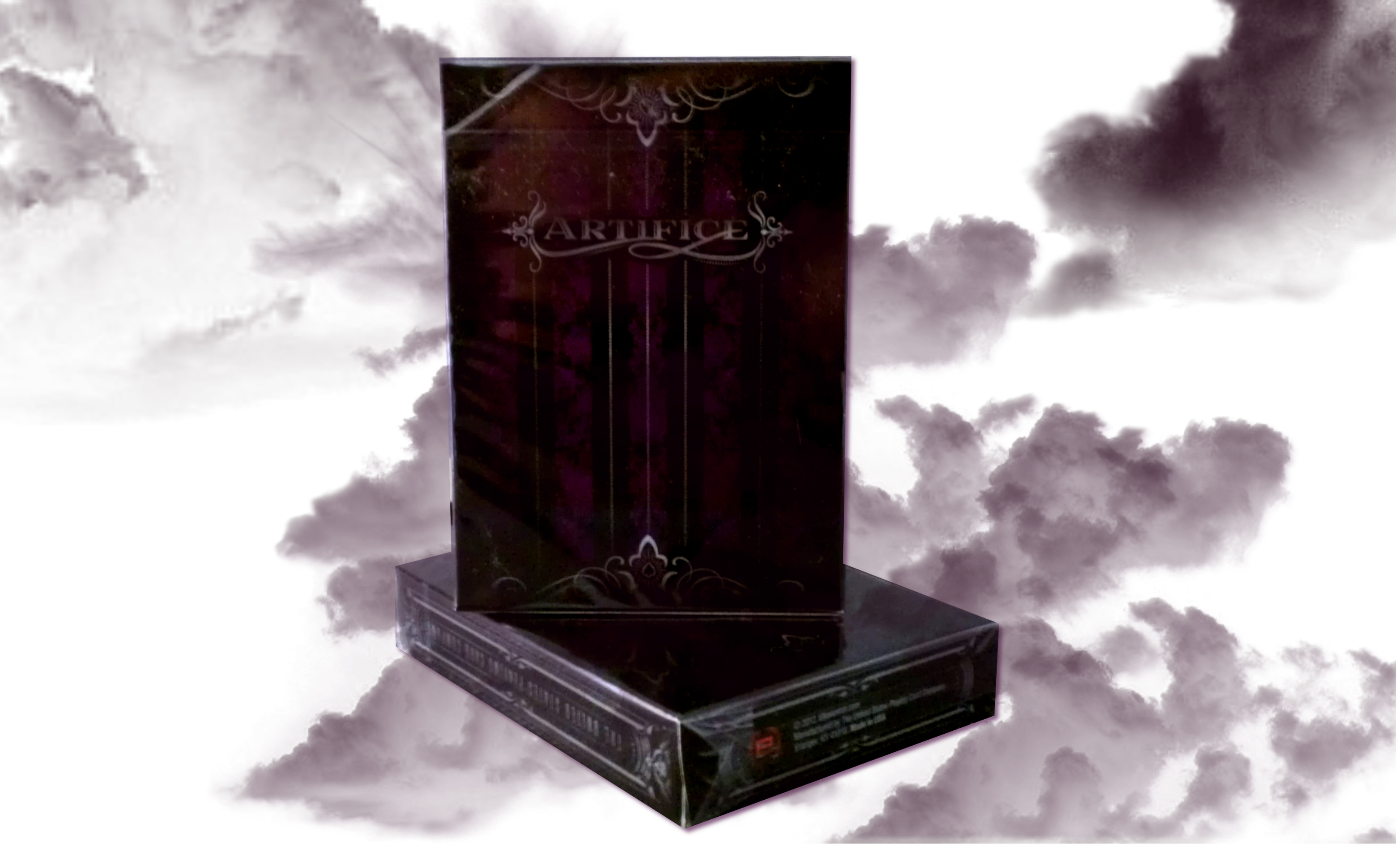 Artifice Deck - Performance Coated Playing Cards (2nd Edition) by Ellusionist - Purple magic cards, magic tricks
