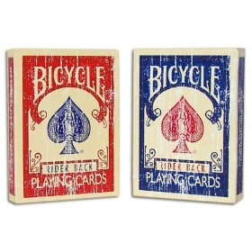 Bicycle 2 Deck Faded Red Blue Magic Playing Cards Bicycle 2 Deck Faded Red Blue Magic Playing Cards Magic Magical Magician Illusion