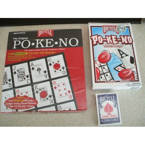 Bicycle Ultimate Pokeno 24 Board Set with Cards Bicycle Ultimate Pokeno 24 Board Set with Cards