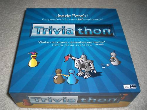 Bicycle Triviathon Trivia Question Board Game Bicycle Triviathon Trivia Question Board Game jeezle pets petes