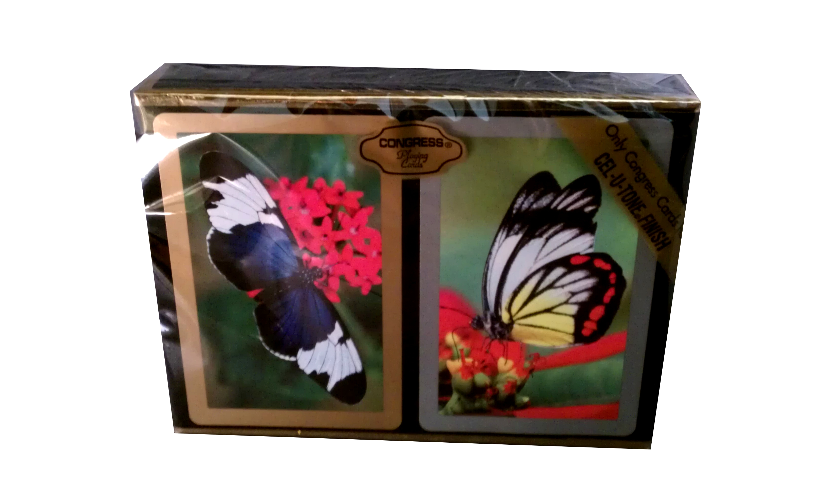 Congress Butterflies Regular Index Playing Cards congress bridge cards