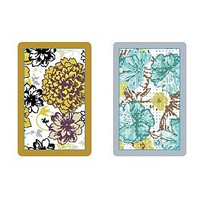 Congress Flora Regular Index Playing Cards congress bridge cards