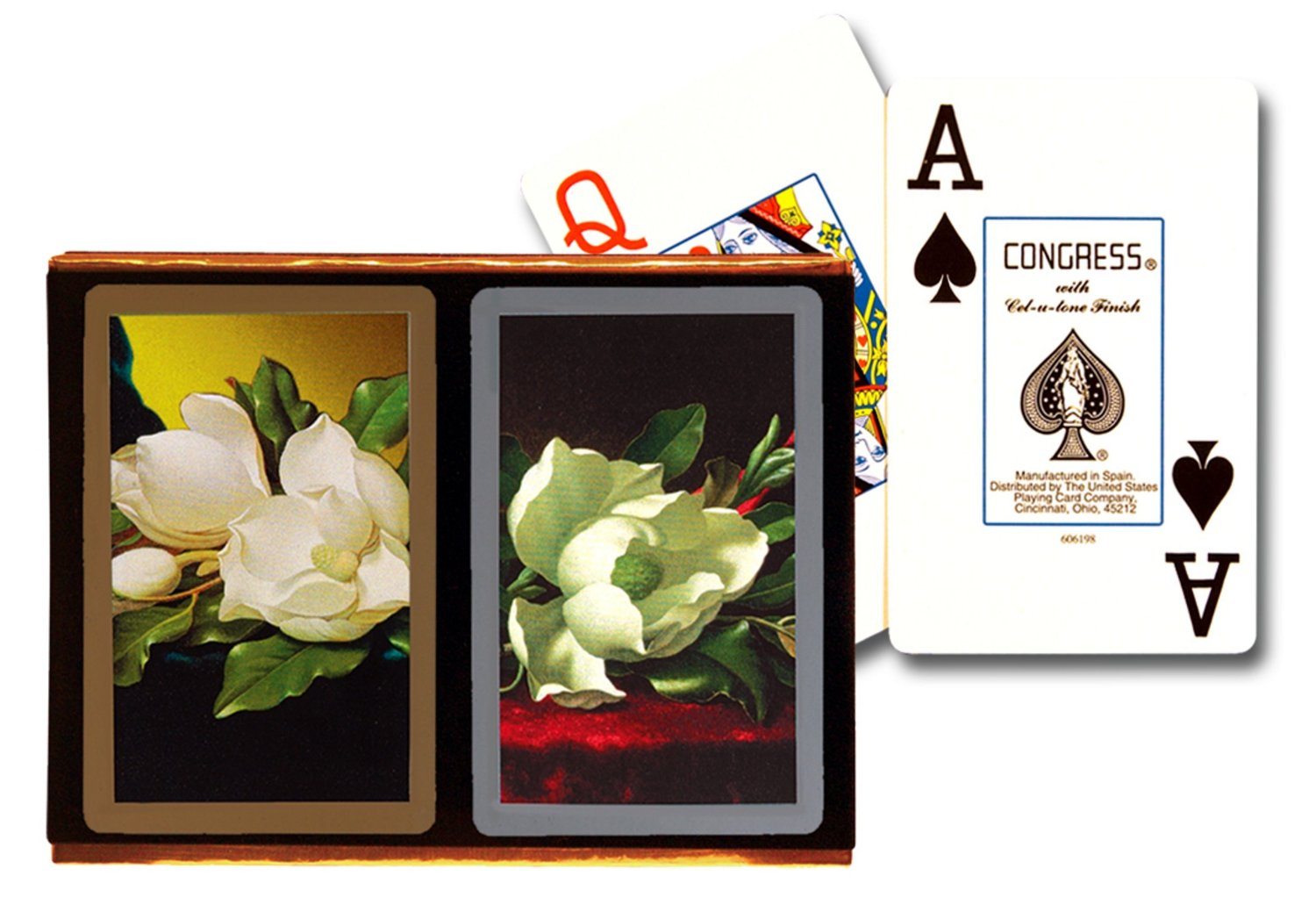 Congress Southern Charm Jumbo Index Playing Cards congress bridge cards