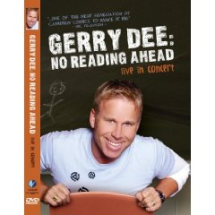 Gerry Dee: No Reading Ahead Live New DVD Gerry Dee: No Reading Ahead Live New DVD