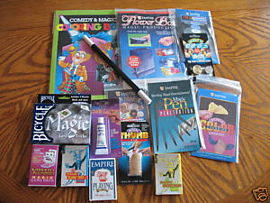 Magician Starter Kit Magic Wand Coins Cards Tricks Magician Starter Kit Magic Wand Coins Cards Tricks Magical magician illusions